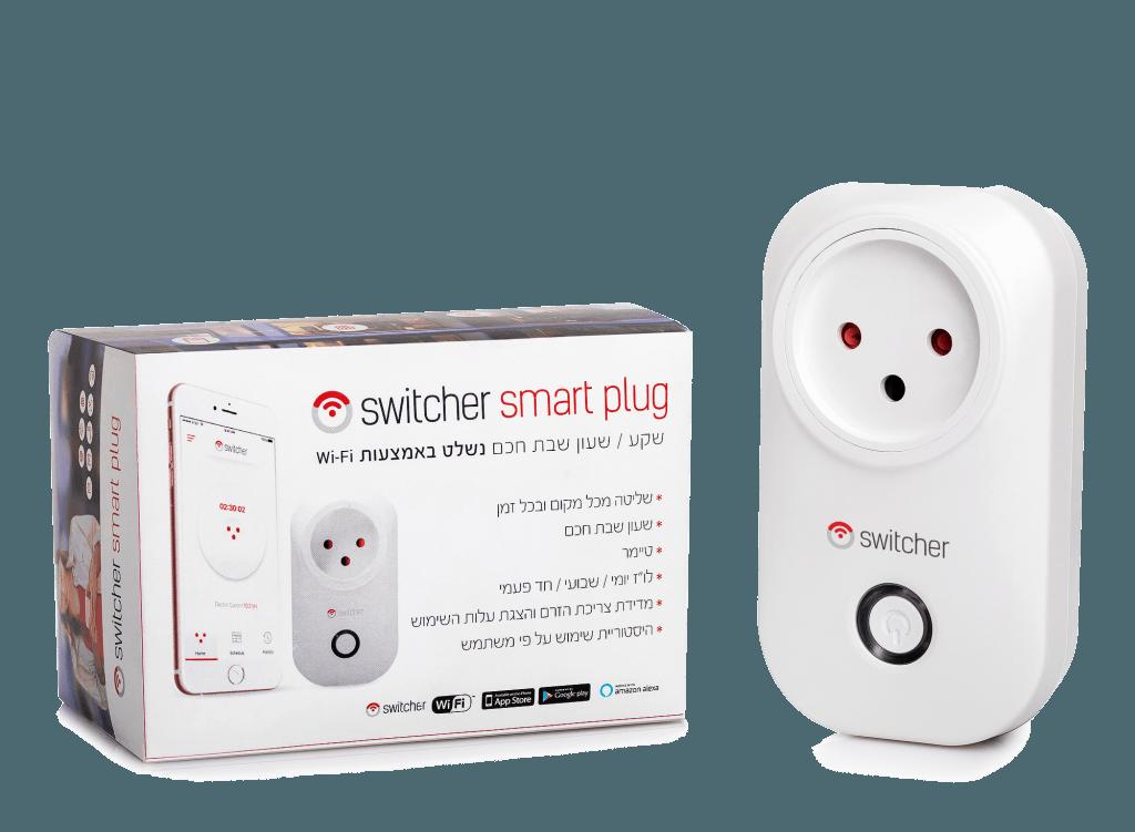 סוויצ'ר Smart Plug - שקע חכם, חשמל חכם אלחוטי